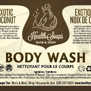 Exotic Coconut Body Wash 250ml